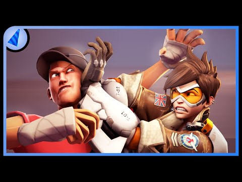 Team Fortress vs Overwatch