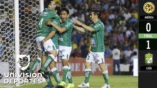 América 0-1 León - RESUMEN Y GOL – SEMIFINAL DE IDA – Clausura 2019 Liga MX