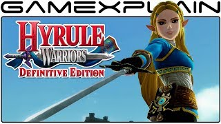 Hyrule Warriors: Definitive Edition - Breath of the Wild Link & Zelda Costumes (Gameplay)