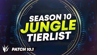 ULTIMATE SEASON 10 JUNGLE TIER LIST (HIGH/LOW ELO) | League of Legends