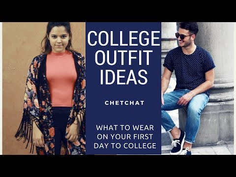 What to Wear on Your First Day of College I College Outfit Ideas