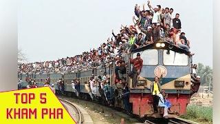 Top 10 Tuyến Tàu Hỏa Nguy Hiểm Nhất Thế Giới | Không Tin Vào Mắt Mình