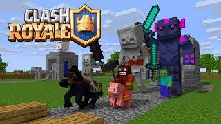 Monster School : Fighting Clash Royale - Minecraft Animation