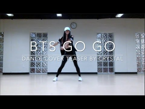 [SHORT COVER] BTS GO GO — dance cover teaser by crystal diamond