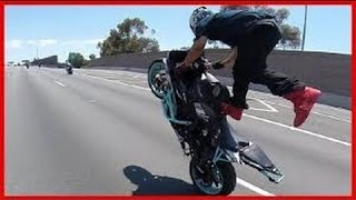 Motorcycle Wheelies Running From COPS Escapes POLICE CHASE Bike VS Cop 2016