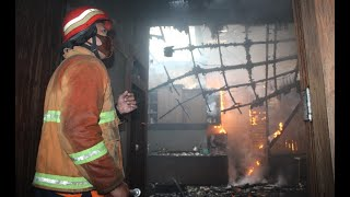 Tempat Produksi Jok Mebel Terbakar Gara-Gara Percikan Las