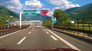 Innsbruck - Milan, Highway A22/E45