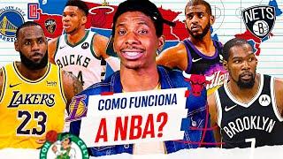 COMO FUNCIONA A NBA? TEMPORADA REGULAR, CONFERÊNCIAS E PLAYOFFS! - DICIONARIO NBA #1