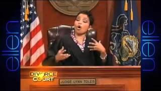 Watch Ellen Enjoy a Hilarious 'Divorce Court' Clip