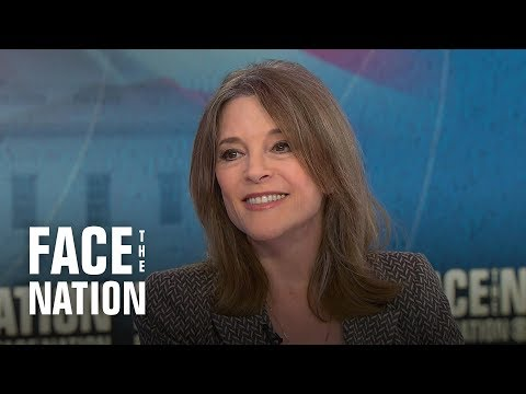 """Dem candidate Marianne Williamson on her proposal for a """"Department of Children"""""""
