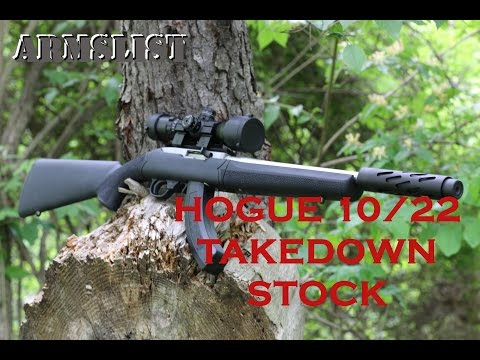 Hogue 10/22 Take Down Stock: The kind of sticky you want