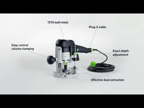 Festool OF1010EBQ-Plus Router 1/4 Collett 240v 574334