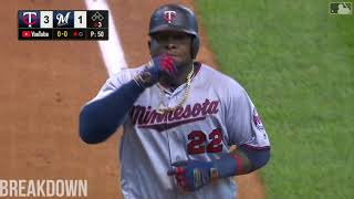 Brewers Vs. Twins Highlights - August 14th, 2019
