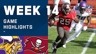 Vikings vs. Buccaneers Week 14 Highlights | NFL 2020
