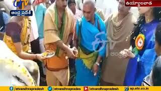 Nara Brahmani Visits Uyyalawada Village..