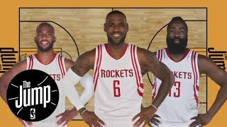 Kawhi Leonard wins MVP? LeBron James to Houston Rockets? | The Jump | ESPN