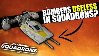 Are Bombers USELESS in Star Wars Squadrons?