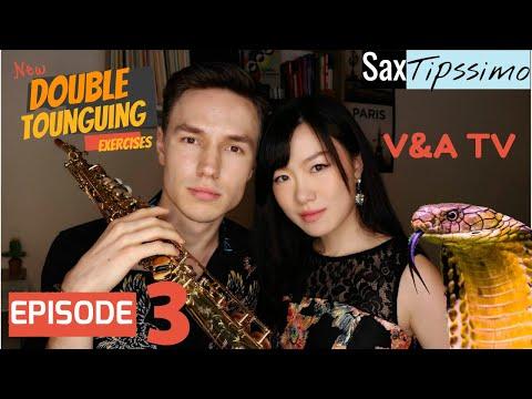 V&A SaxTipssimo - Making your tongue Flamin' Hot [EP 3: Double Tongue]