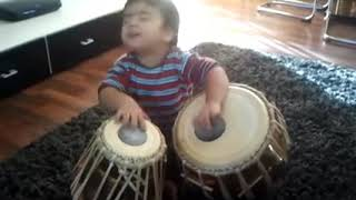 Watch full|World's cute tabla player| classical music