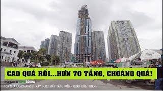 Tòa nhà The Landmark 81 - Vinhomes Central Park xây bao nhiêu tầng rồi? - Land Go Now ✔