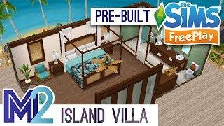 Sims FreePlay - Private Island Villa (Pre-Built Template)