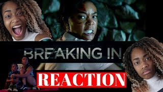Reaction to Breaking In trailer #1