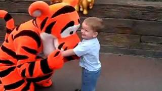 Cutest moment ever at Disneyland