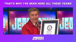 Johnny Gilbert's Guinness World Record | JEOPARDY!