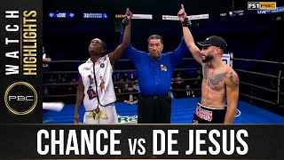 Chance vs De Jesus: HIGHLIGHTS: September 18, 2021 | PBC on FS1
