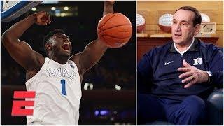 Duke's Coach K exclusive on Zion Williamson, Tre Jones and loss vs. Syracuse | College GameDay