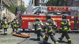 FDNY - 10-60 Major Emergency - Crane Collapse on Madison Ave - 5/31/15