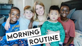 My MORNING ROUTINE as a MOM of 7!