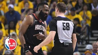 Did refs let Warriors get away with fouls in Game 1? | After The Buzzer | 2019 NBA Playoffs