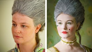 Historical Styles - 18th Century Court Make-up Tutorial