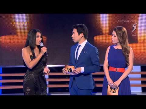 Anggun - Snow On The Sahara + Interview (Live on The 5 Show, Mediacorp Ch 5 - Singapore) HD