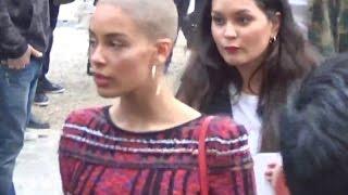 Jorja SMITH @ Paris Fashion Week 2 march 2017 show Balmain / mars #PFW