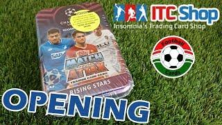 Topps Champions League 18/19 Match Attax Mega Fémdoboz | Opening