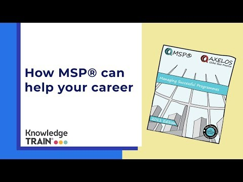 How MSP® can help your career