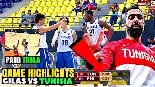 NAKAKAKABANG LABAN sobrang ganda   Lasing scorer   gilas pilipinas vs Tunisia full highlights