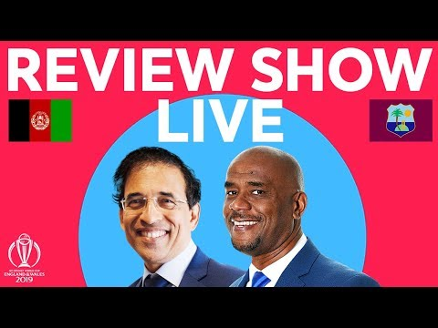 The Review LIVE – Afghanistan v West Indies | ICC Cricket World Cup 2019