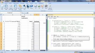 FCell 2.1: Excel object handles and linear regression with R in F#
