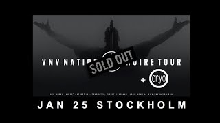 VNV Nation live Stockholm 25 January 2019 - full show
