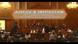 Thurgood Marshall Junior Mock Trial 12 12 17