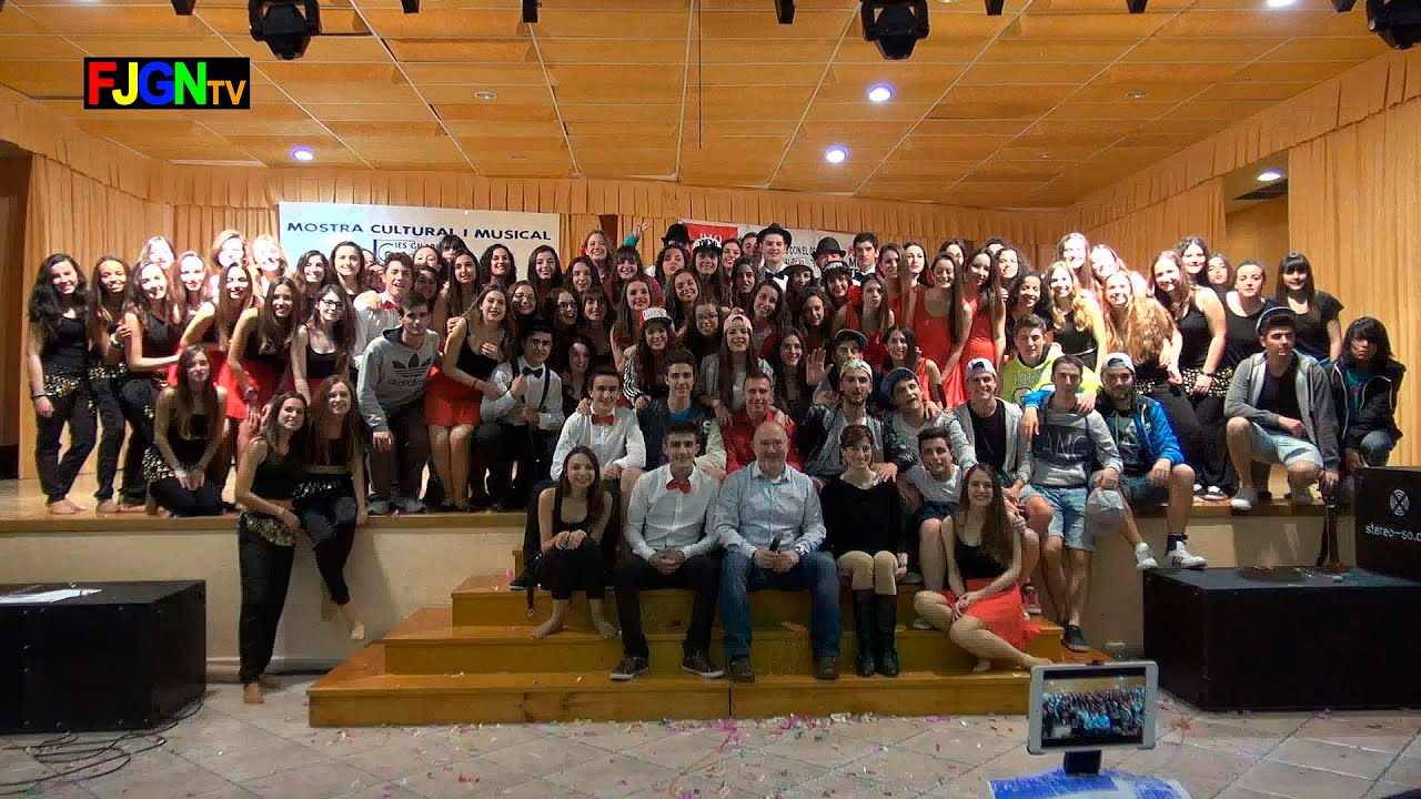 17. Despedida alumnos - XV Mostra musical i cultural IES Gilabert de Centelles 2015 Nules
