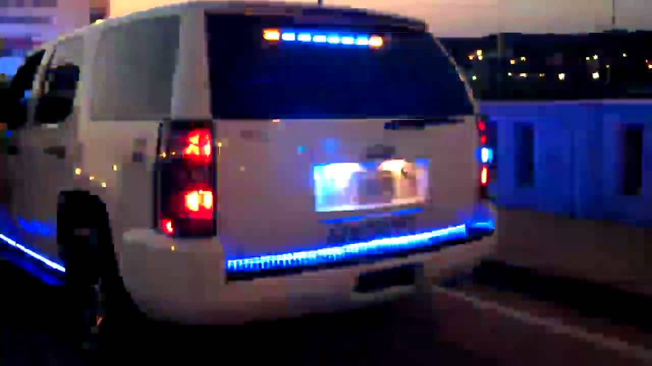 HG2 Emergency Lighting Chevy Tahoe - YouTube
