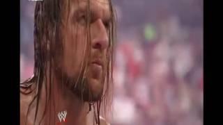 Trận đánh 4 kinh hoàng giữa John Cena vs Big Show vs Triple H vs Randy Orton