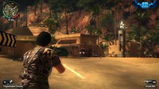 Just Cause 2 PC Gameplay Part 2 Maxed Out Settings 720p HD Win 7