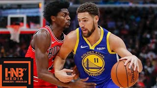 Golden State Warriors vs Chicago Bulls Full Game Highlights | 10.29.2018, NBA Season