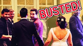 WE CRASHED A STRANGER'S WEDDING