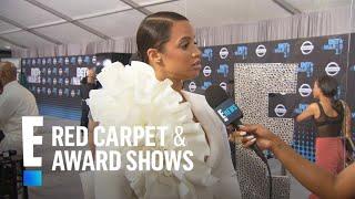 "Dascha Polanco Talks ""OITNB"" and Daughter at BET Awards   E! Red Carpet & Award Shows"